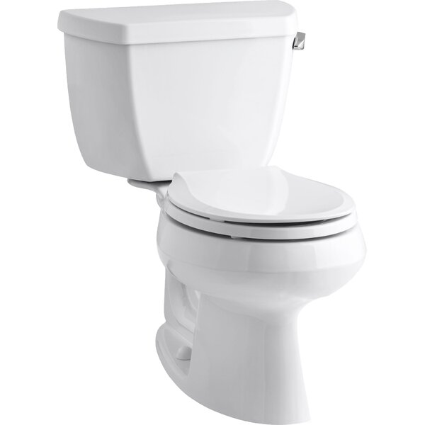 Wellworth Classic 1.28 GPF Round Two-Piece Toilet by Kohler
