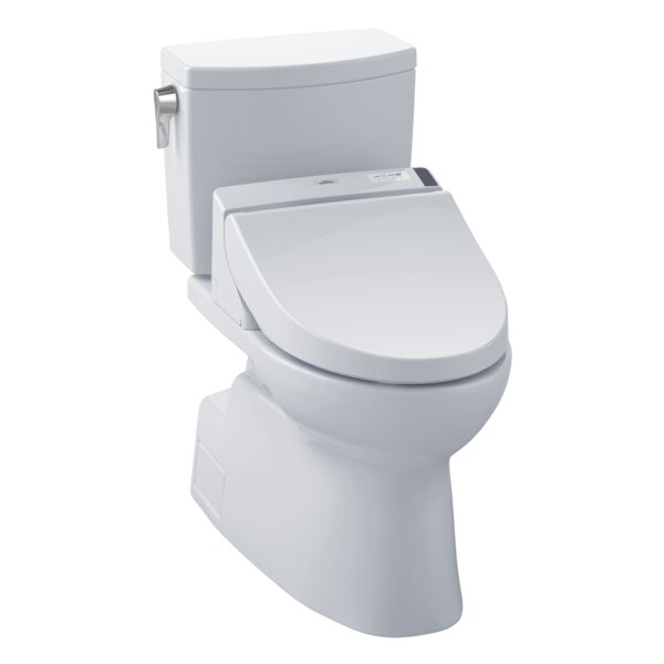 Vespin® II 1.0 GPF Elongated Two-Piece Toilet by Toto