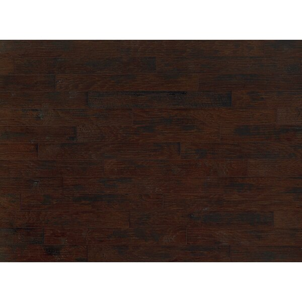 Americano 5 Engineered Hickory Hardwood Flooring in Leather by Welles Hardwood