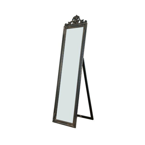 Aaliyah Standing Decorative Design Full Length Mirror by Astoria Grand