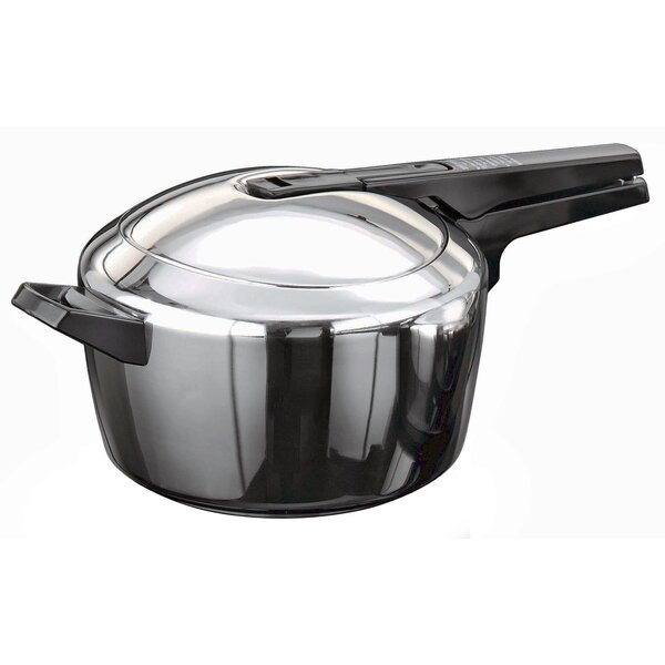 Stainless Steel 4.23-Quart Pressure Cooker by Futura