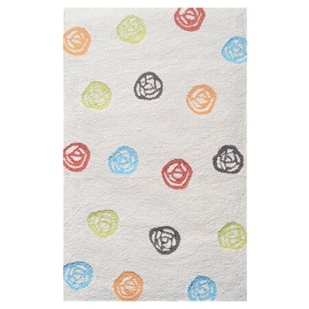 White Kids Rug by The Conestoga Trading Co.