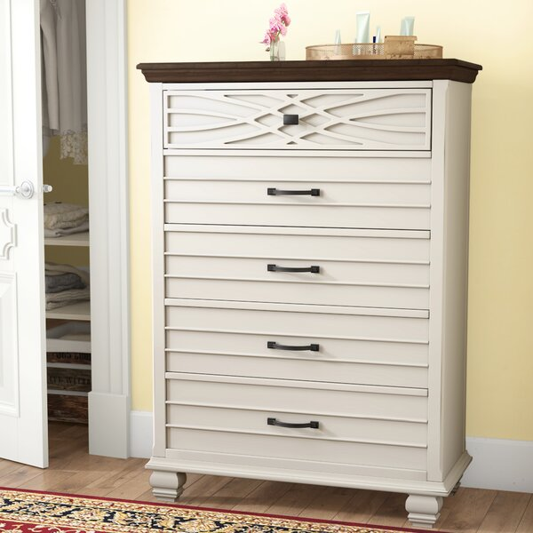 Parlington 5 Drawers Chest by Three Posts Teen