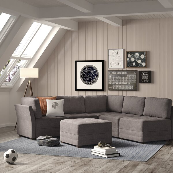 Outstanding Brooten Symmetrical Modular Sectional With Ottoman By Trule Download Free Architecture Designs Scobabritishbridgeorg