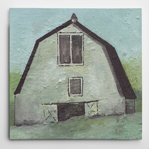 Premium 'Barn V' by Joyce Combs Painting Print on Wrapped Canvas by Wexford Home