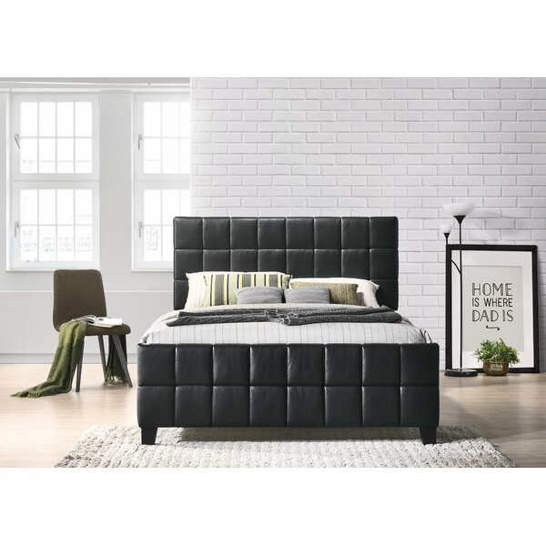 Bracco Arlo Upholstered Standard Bed By Winston Porter by Winston Porter New
