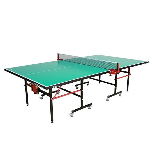 Master Folding Indoor Table Tennis Table by Garlando