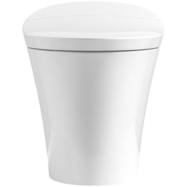 Veil Intelligent Skirted 1-Piece Elongated Dual Flush Toilet by Kohler