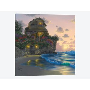 Peaceful Refuge Painting Print on Wrapped Canvas by East Urban Home