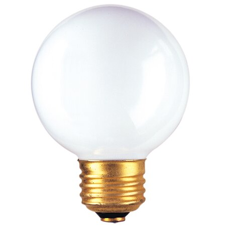 25W Frosted 120-Volt (2540K) Incandescent Light Bulb (Set of 20) by Bulbrite Industries
