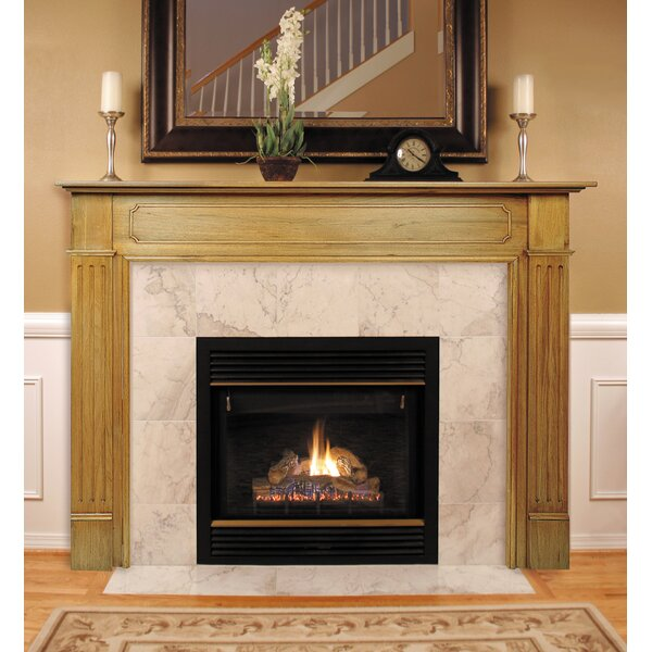 The Williamsburg Fireplace Mantel Surround by Pearl Mantels