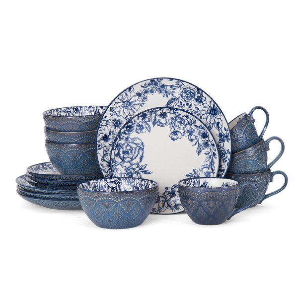 Gabriela 16 Piece Dinnerware Set, Service for 4 by Pfaltzgraff