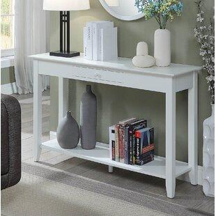 Antique White Console Table Wayfair - Wayfair white sofa table