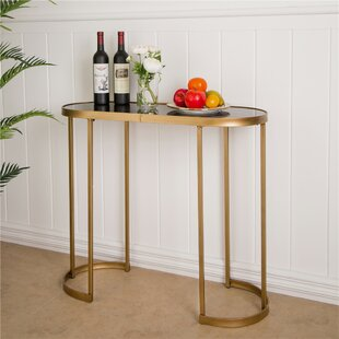 Inexpensive Bandit Mirrored Console Table By Mercer41