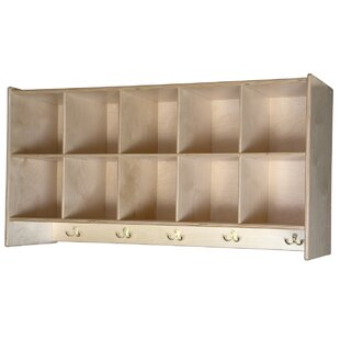 10 Compartment Cubby By Wood Designs