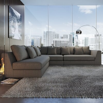 Wade Logan Living Modular Sectional Upholstery Color Sectionals