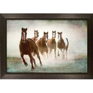 Canter Into My Heart Framed Photographic Print by Byron Anthony Home
