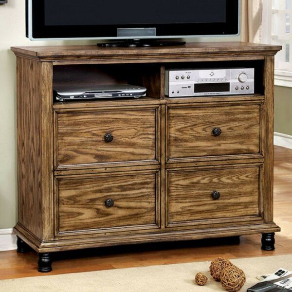 Home & Outdoor Wiesner Industrial Design Media 4 Drawer Dresser