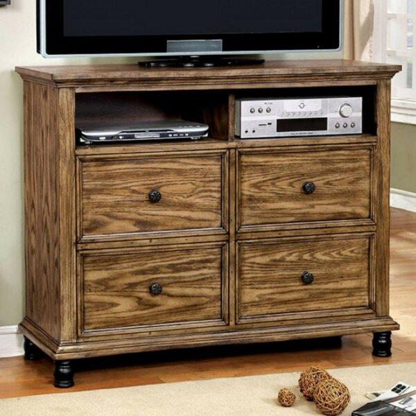 Low Price Wiesner Industrial Design Media 4 Drawer Dresser
