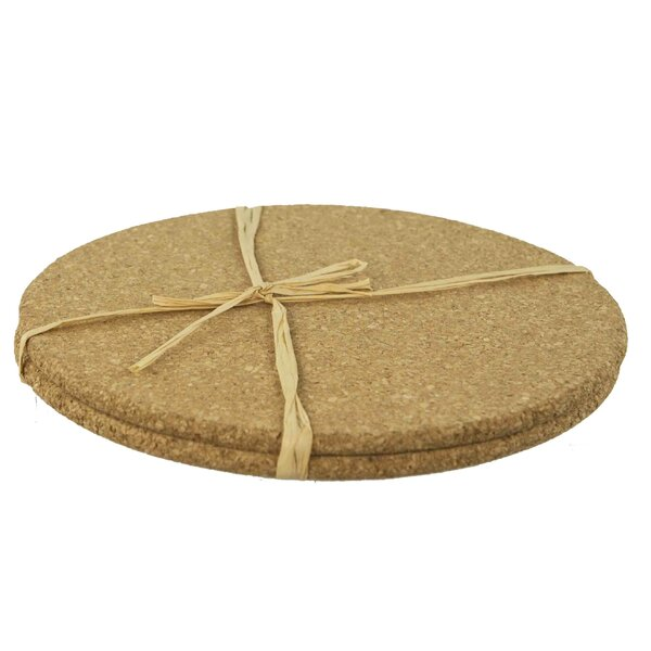 Cork Trivet (Set of 3) by Home Basics