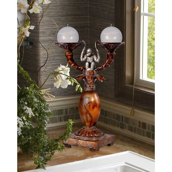 Plastic Candelabra by World Menagerie