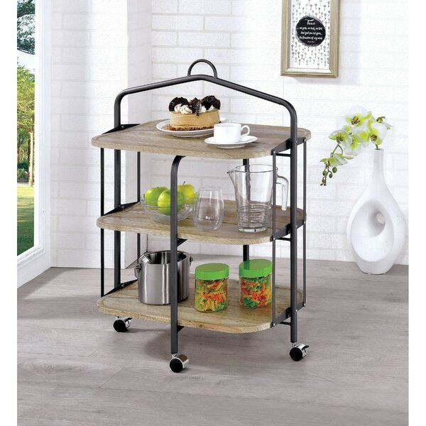 Royster 3 Shelf Bar Cart by Gracie Oaks