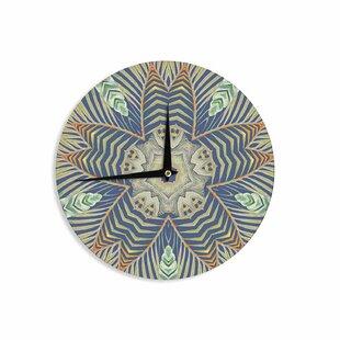 Alison Coxon 'Kintenge Deep ' 12 Wall Clock by East Urban Home