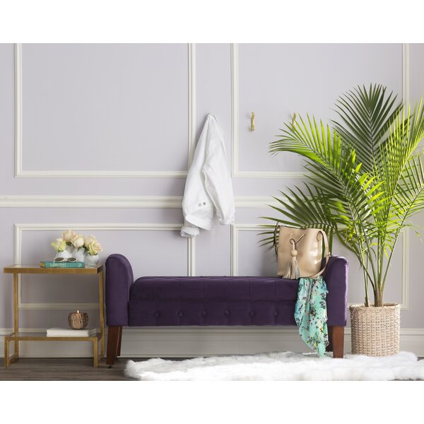 Caplan Upholstered Storage Bench by Winston Porter