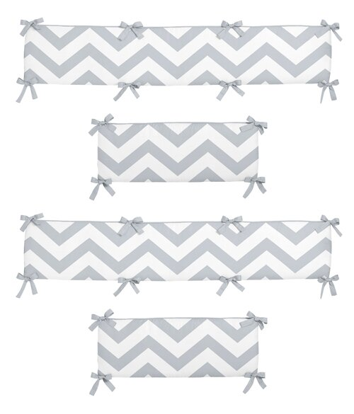 Chevron Crib Bumper by Sweet Jojo Designs