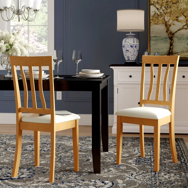 Artin Rubberwood Side Chair (Set of 2) by Andover Mills