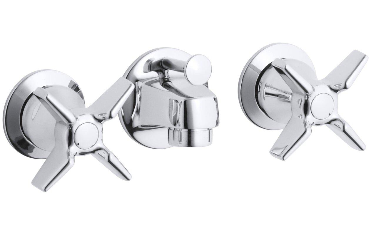 K-8040-3A-CP Kohler Triton Shelf-Back Commercial Bathroom Sink ...
