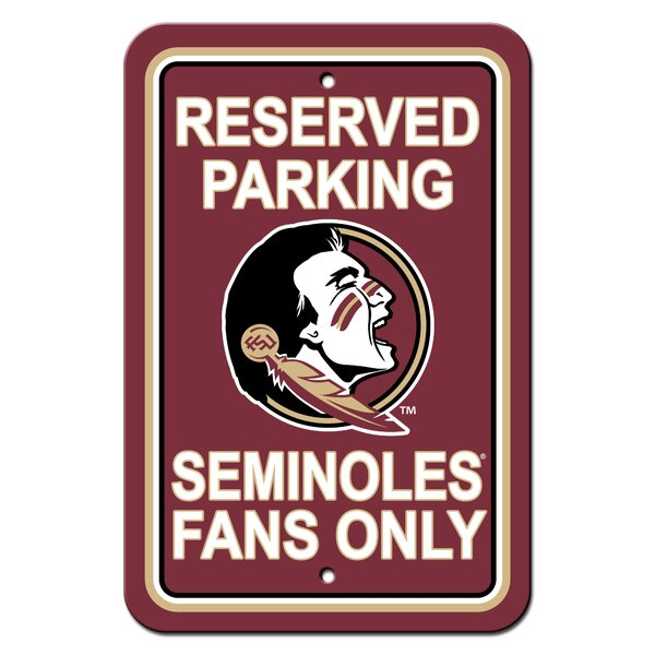 NCAA Plastic Parking Sign by Team Pro-Mark