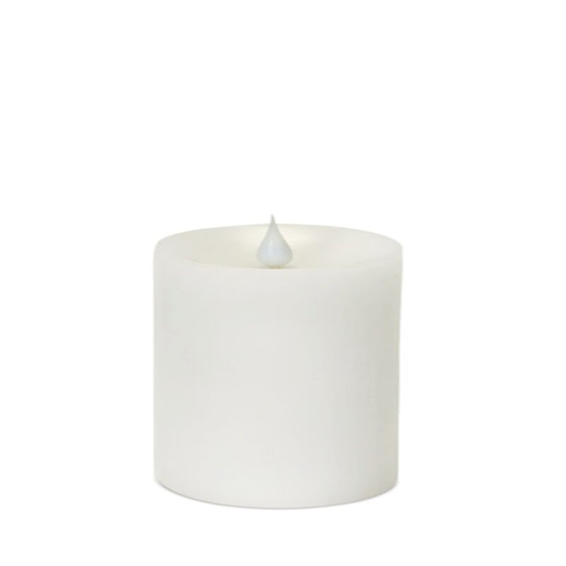 The Holiday Aisle Led Pillar Unscented Flameless Candle Wayfair