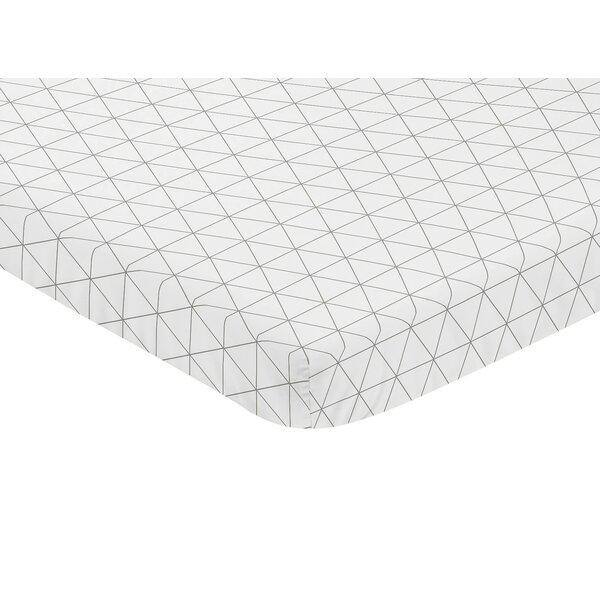 Mod Jungle Mini Fitted Crib Sheet by Sweet Jojo Designs