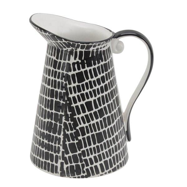 Carmon Ceramic Table Vase by Union Rustic