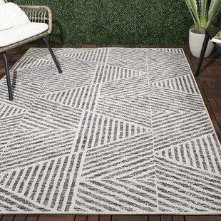 Modern Geometric Indoor Outdoor Area Rugs Allmodern