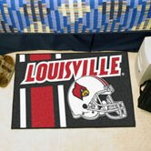 NCAA University of Louisville Starter Doormat by FANMATS