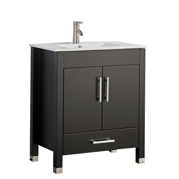 Predmore Modern 24 Single Bathroom Vanity Set by Orren Ellis