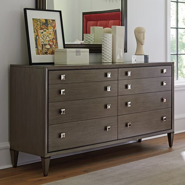 Ariana Touraine Eight Drawer Double Dresser by Lexington