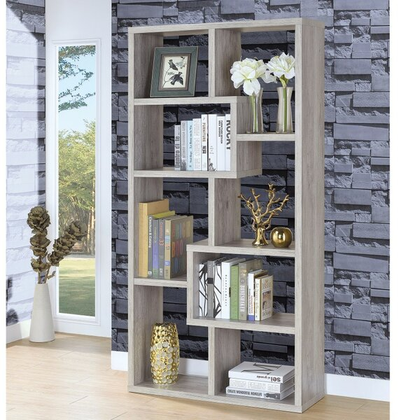 Delong Wooden Cube Unit Bookcase by Wrought Studio