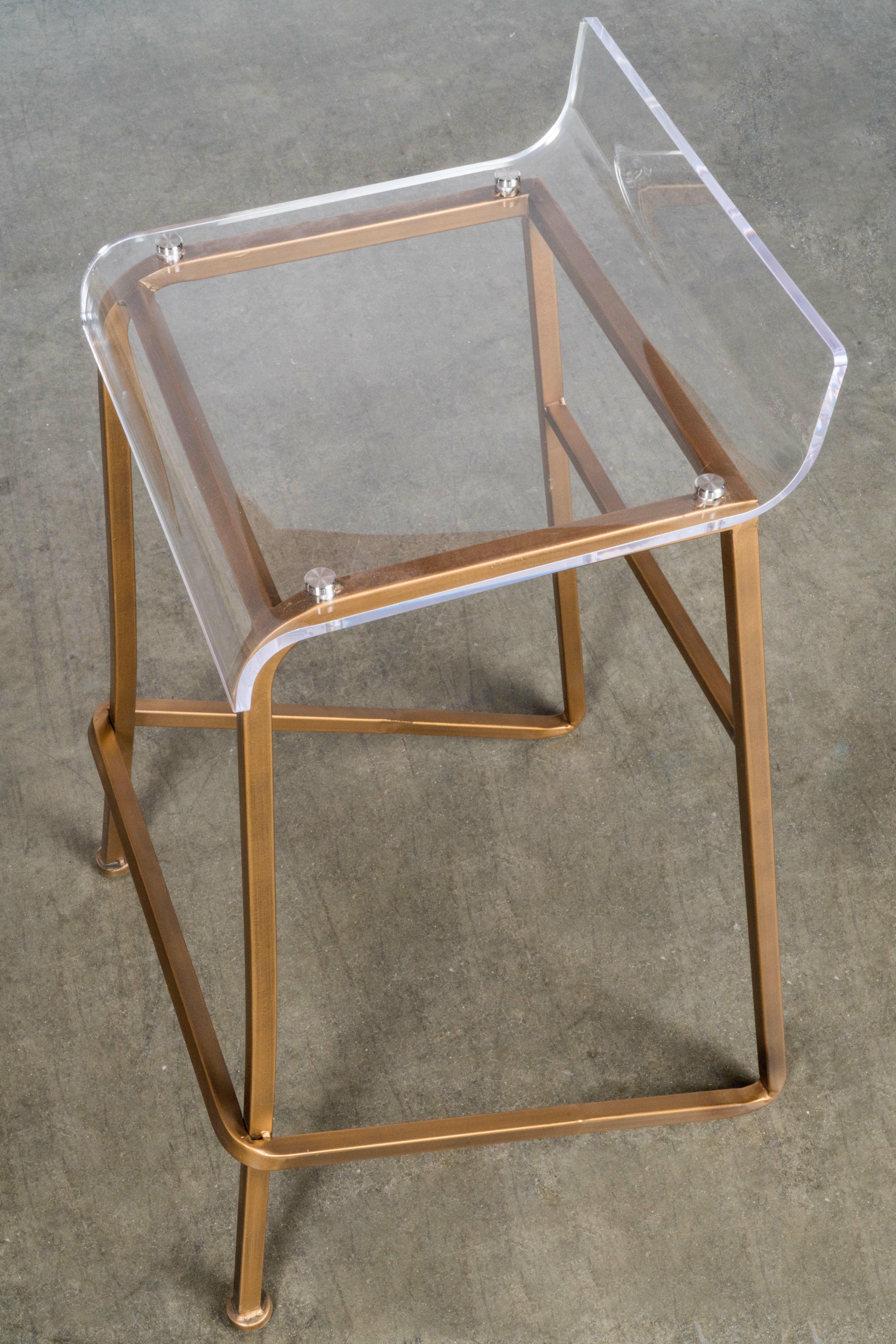 Magnificent Statements By J Acrylic Counter Stool Reviews Wayfair Inzonedesignstudio Interior Chair Design Inzonedesignstudiocom