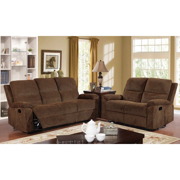 Kibler Transitional Reclining  Recliner Living Room Set By Winston Porter #2