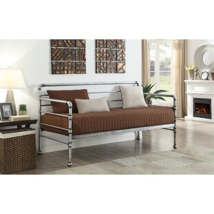 Scroggins Transitional Metal Twin Daybed
