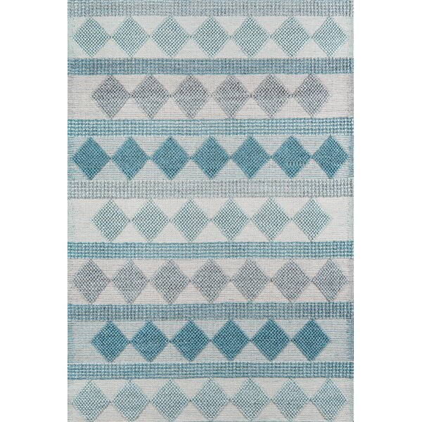 Elissa Hand-Woven Blue Area Rug by Gracie Oaks