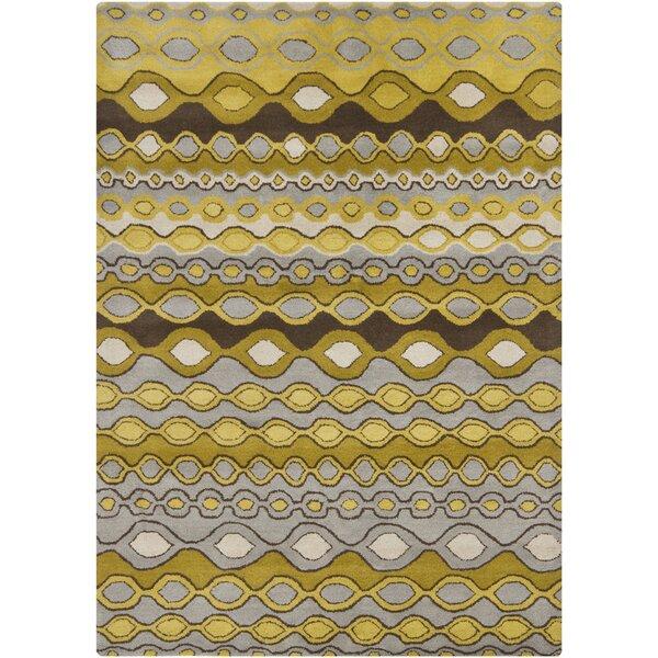 Carol Gold/Yellow Area Rug by Corrigan Studio