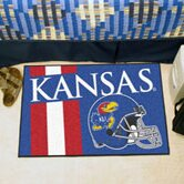 NCAA University of Kansas Starter Doormat by FANMATS