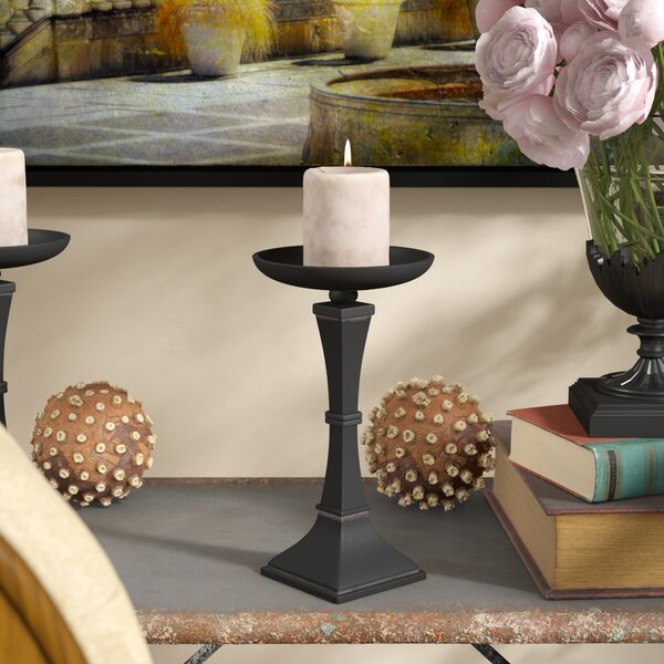 Ravello Iron Candlestick by Fleur De Lis Living