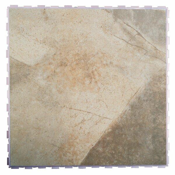 Classic Standard 18 x 18 Porcelain Field Tile in Bedrock by SnapStone