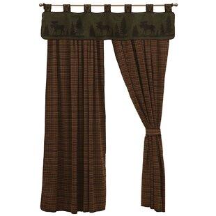 Moose Single Drape Curtain Panel