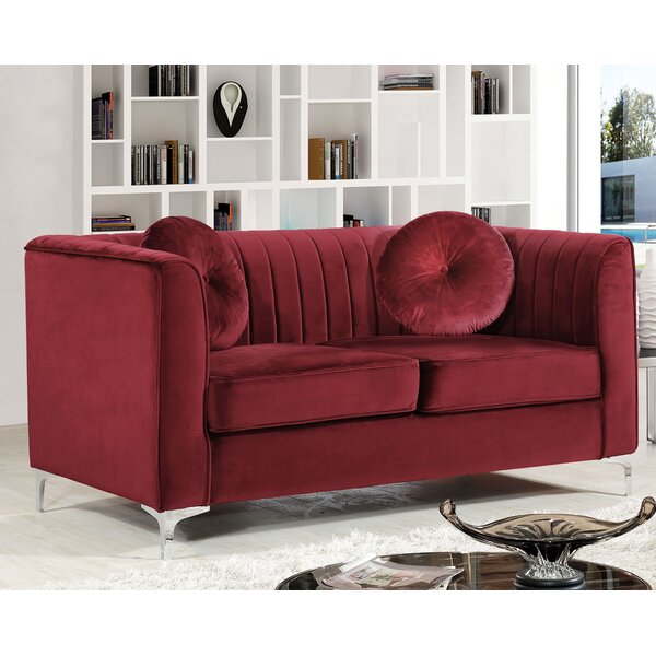 Herbert Chesterfield Loveseat By Willa Arlo Interiors